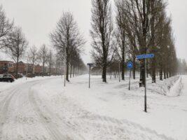 7 februari 2021 sneeuw